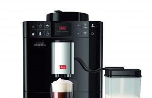 Der Melitta Kaffeevollautomat CAFFEO® Passione® OT mit Milchbehälter