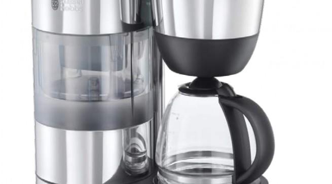 Die Russell Hobbs Kaffemaschine Clarity 20770-56  mit Glaskanne