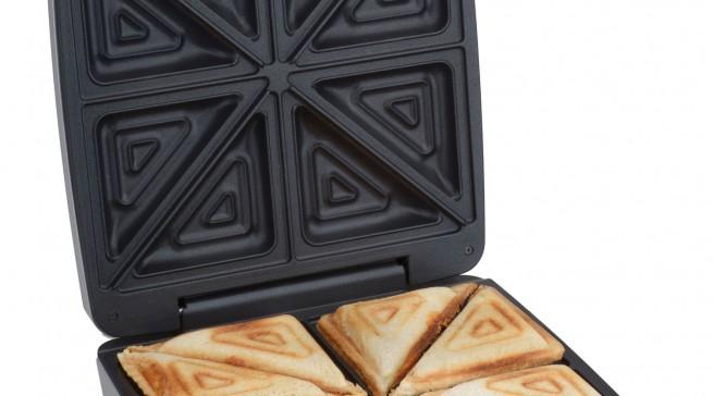 Für alle, die es unkompliziert mögen: XXL Sandwichmaker von Cloer.