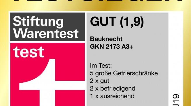 Bauknecht Stiftung Warentest