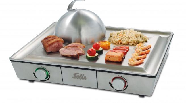 Für die authetische wie professionelle Zubereitung asiatischer Spezialitäten: Teppanyaki@Home von Solis.
