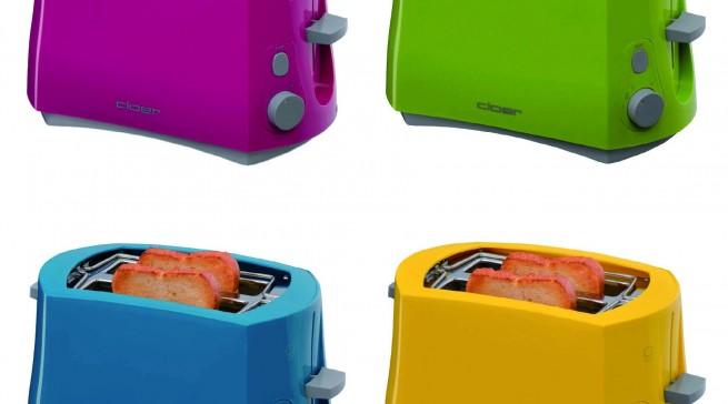 Nicht nur bei den Toastern liefert Cloer in diesem Jahr Farbe.
