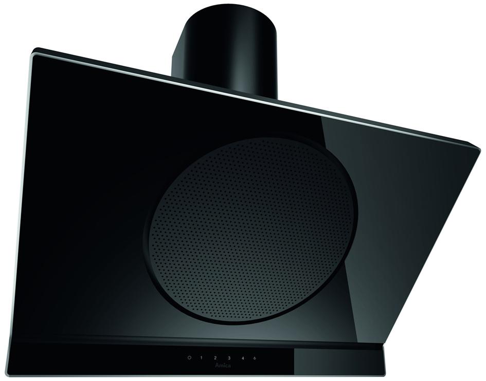 amica dunstabzugshaube flat black in kh 67191 s schr ghaube 90 cm breite. Black Bedroom Furniture Sets. Home Design Ideas