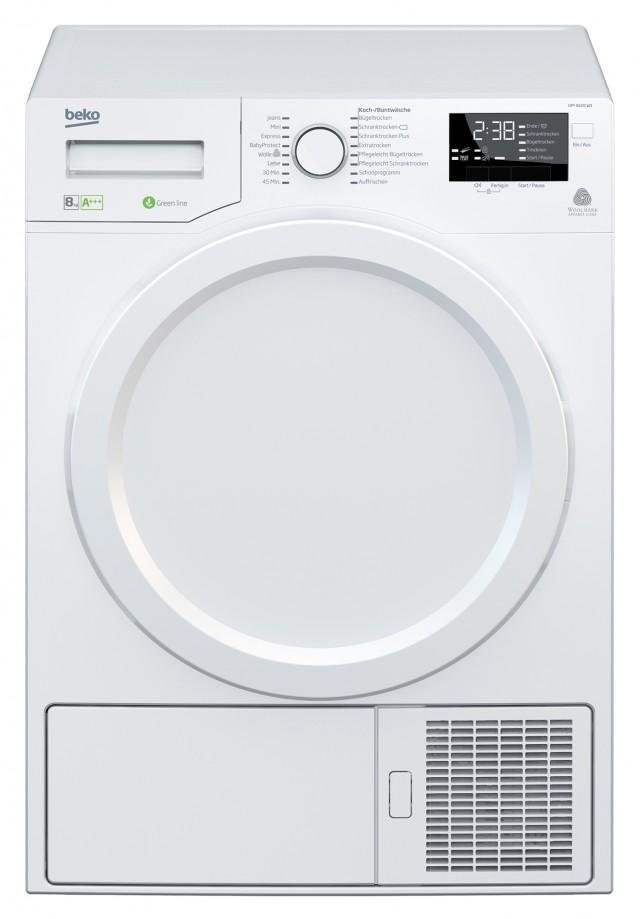 Beko Wäschetrockner DPY 8406 W3 mit Energieeffizienzklasse A+++.
