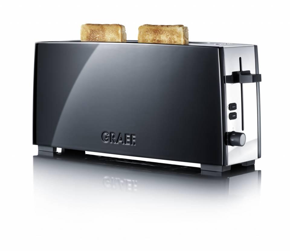 Der Graef Toaster TO 92, ein Langschlitztoaster