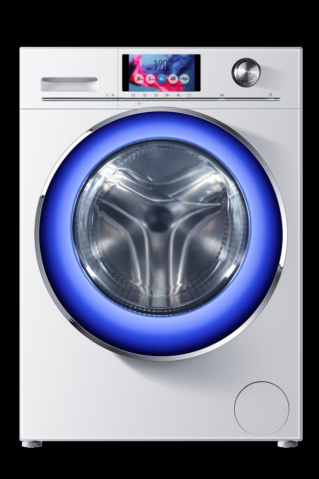 Die Haier Intelius 2.0 Waschmaschine mit Quick-Glance-System