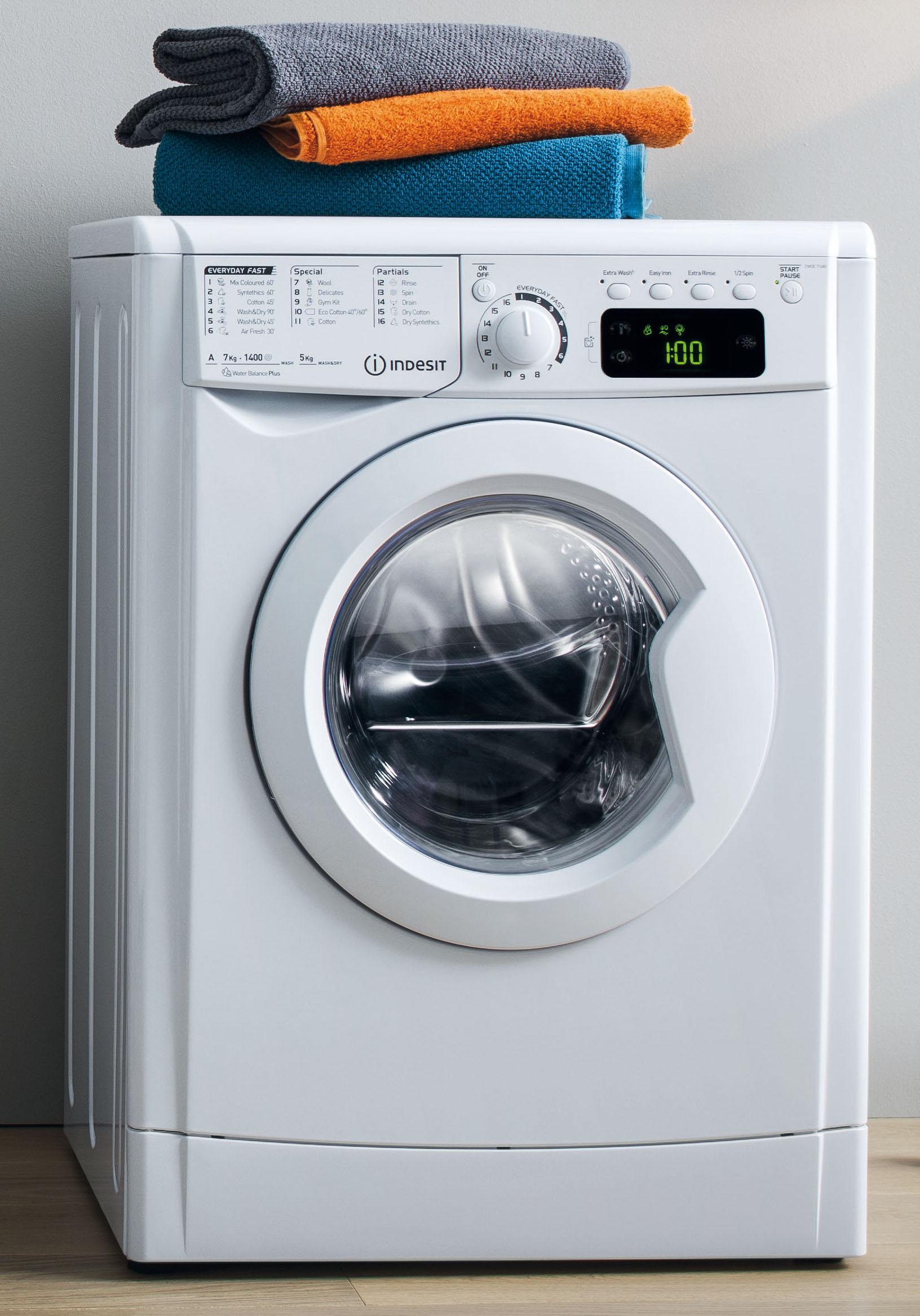 Indesit Waschtrockner MyTime Mit Alltagsprogrammen Unter 90 Minuten