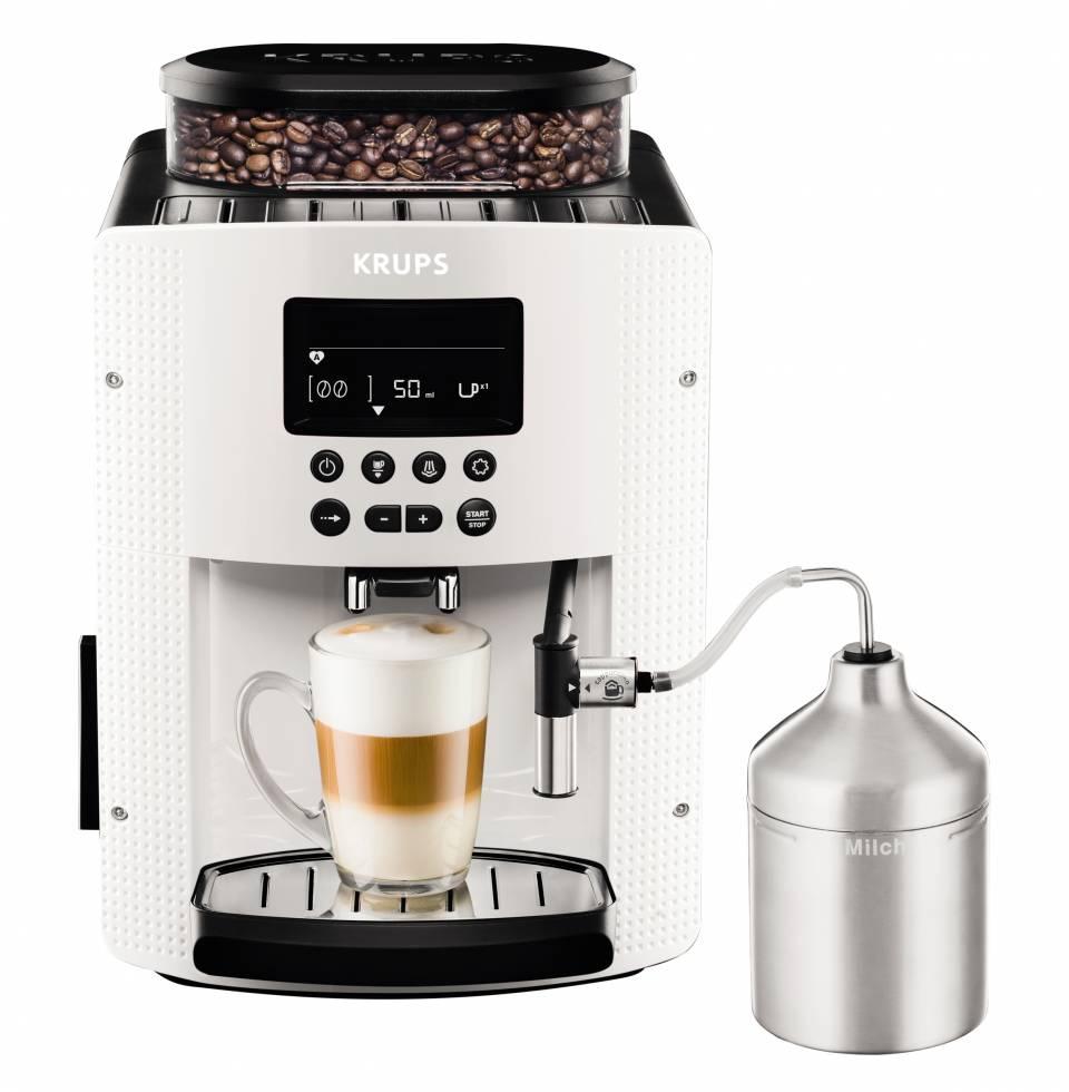 Krups Espresso-Kaffeevollautomat EA816x mit automatische Doppelmahlfunktion.