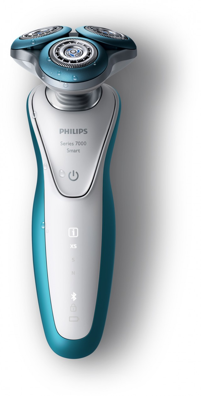 Der Philips Smart Rasierer S7920/65 , Bluetooth-Fähig