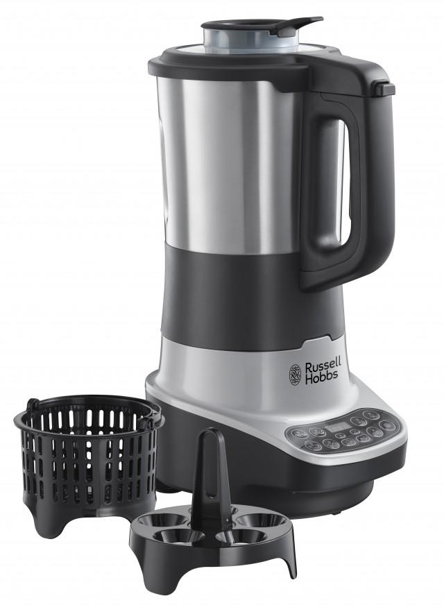 Russell Hobbs Standmixer Soup & Blend Digital 21481-56 mit 8 Kochprogrammen.