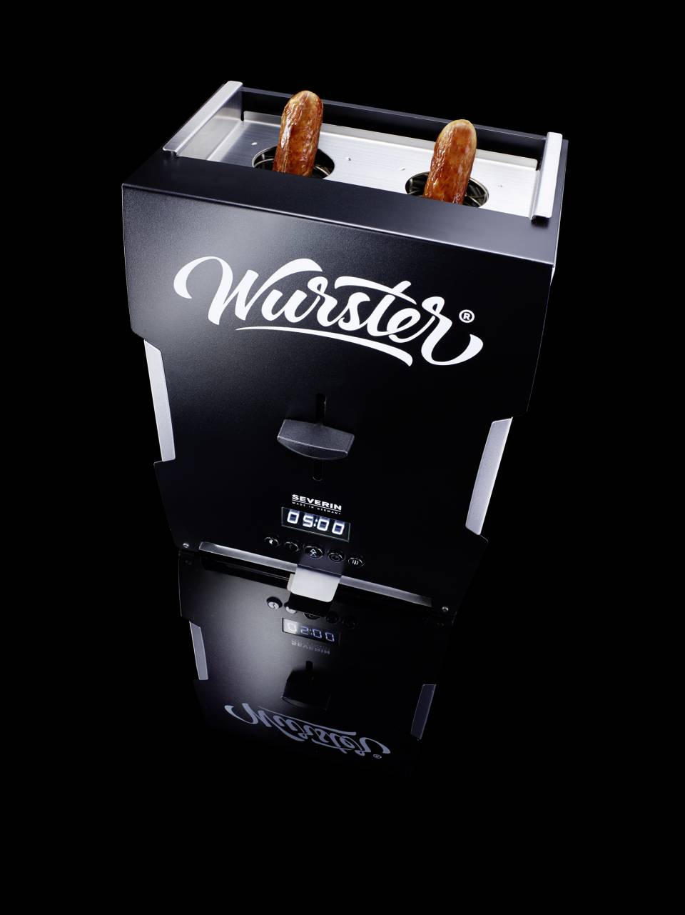Der SEVERIN Wurster WT5000 für zwei Bratwürste