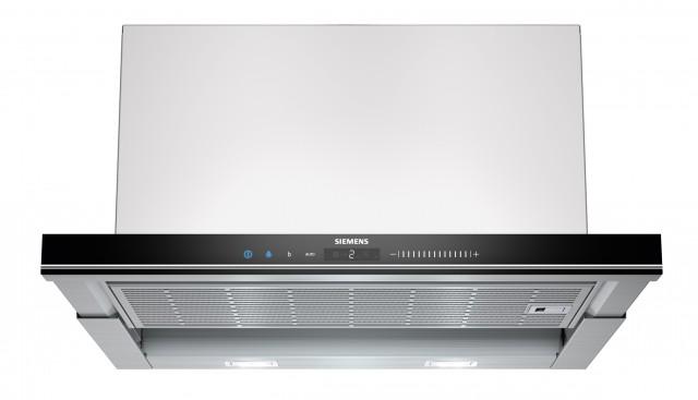 Siemens Dunstabzugshaube iQ700 LI69SA680 ist eine Flachschirmhaube.