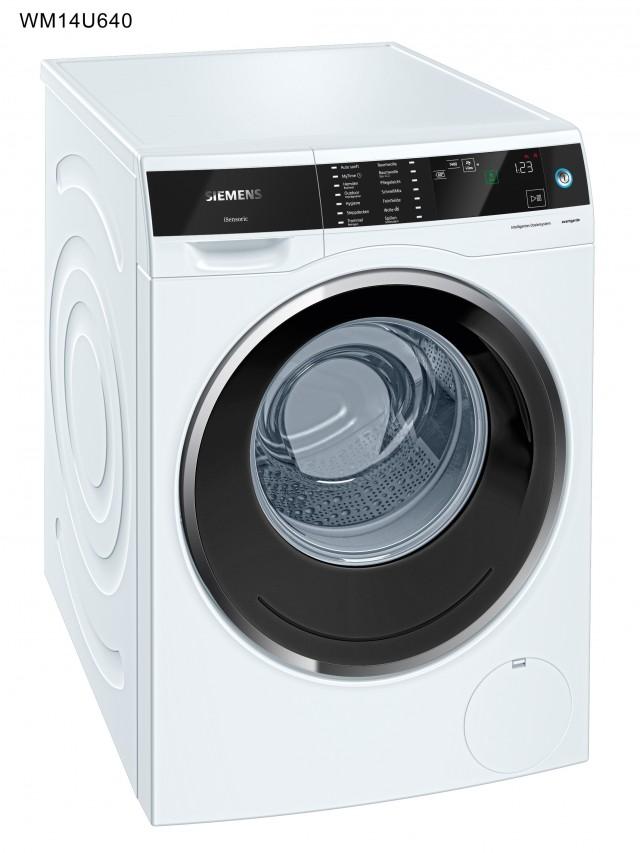 Siemens Waschmaschine avantgarde WM14U640 der Energieeffizienzklasse A+++.