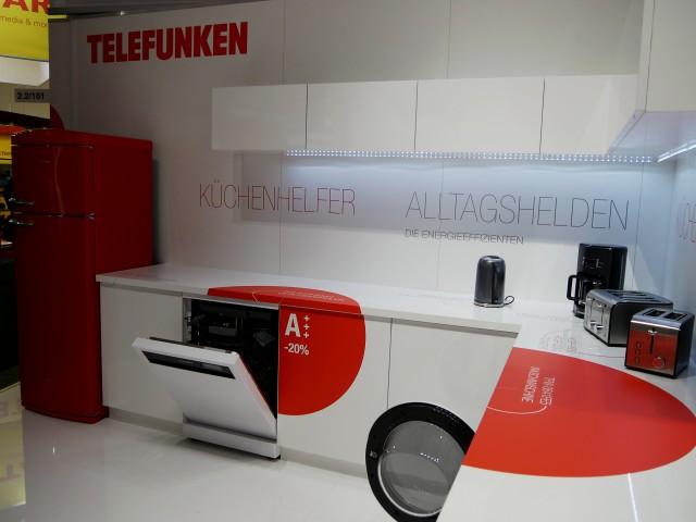Eine Auswahl an Kleingeräten zeigte Telefunken bereits auf der IFA in Halle 2.2.