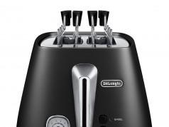 De'Longhi Distinta Toaster CTI2103 ist ein Zwei-Schlitz-Toaster.