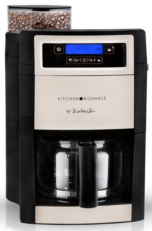 Kalorik Kaffeemaschine TKG CCG 1000 KTO umstellbar auf Filterkaffee oder Mahlwerk.