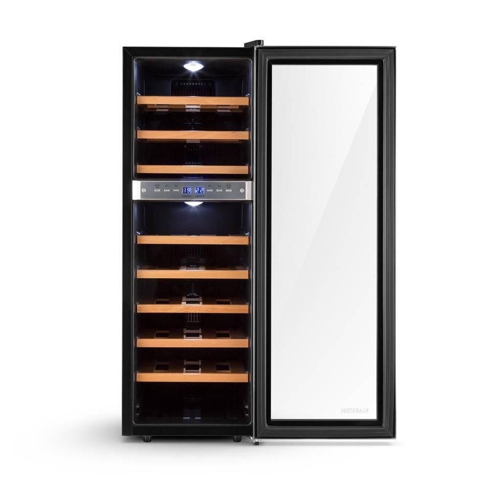 Klarstein Weinkühlschrank Reserva 27D für 27 Weinflaschen.