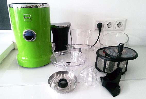 Novis Vita Juicer komplett