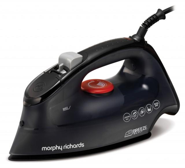 Morphy Richards Bügeleisen Breeze mit Twin-Steam-Technologie.