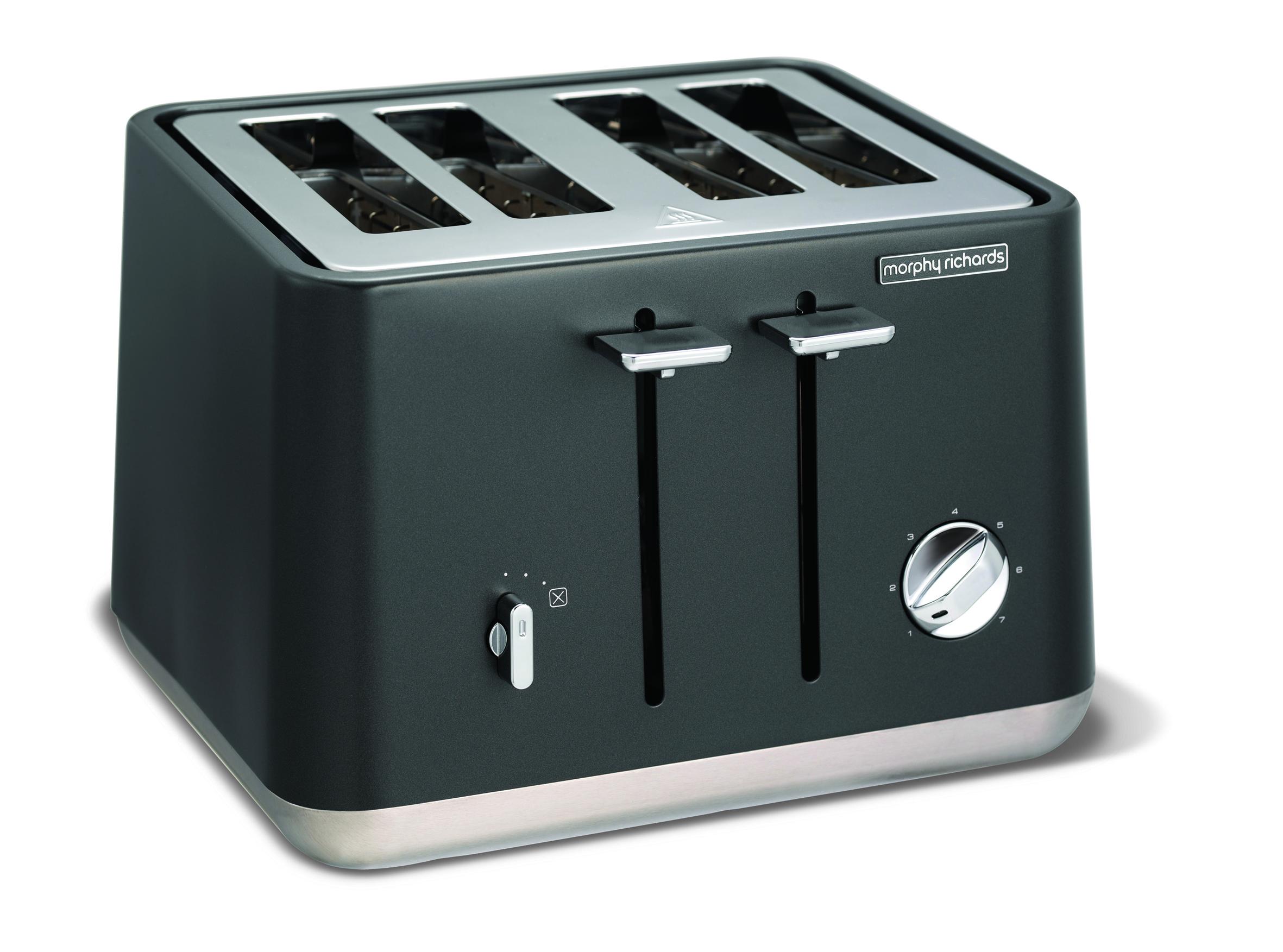 morphy richards toaster aspect mit vier toastkammern. Black Bedroom Furniture Sets. Home Design Ideas