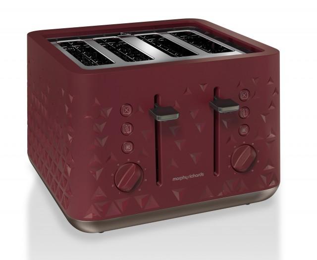 Morphy Richards Toaster Prism mit vier Toastkammern.