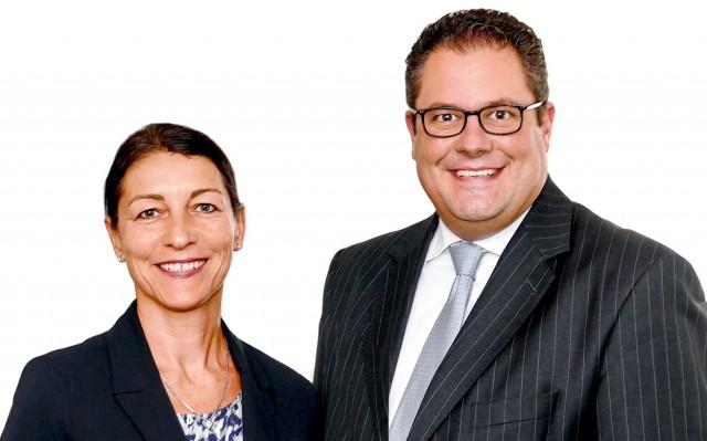 Ziehen die Strippen künftig unter dem Dach der Wertgarantie-Group: Andrea Campbell und Patrick Döring.