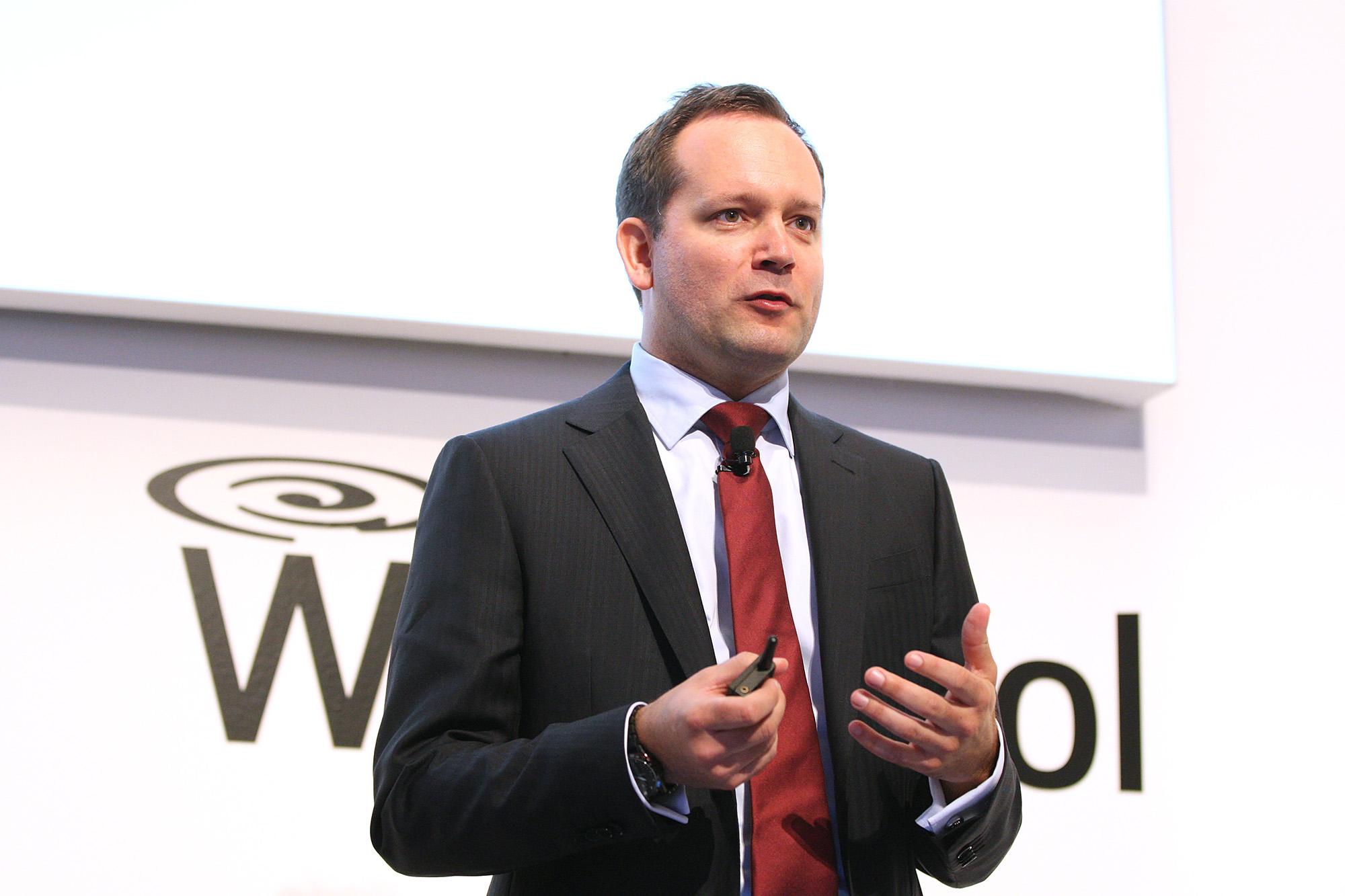 Carl-Martin Lindahl, Vice President Products & Brands, betonte die Bedeutung der typisch-deutschen Marke Bauknecht für die Whirlpool-Gruppe
