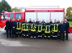 Die BSH-Feuerwehr absolvierte jetzt einen Grundlehrgang nach den neuen Richtlinien.