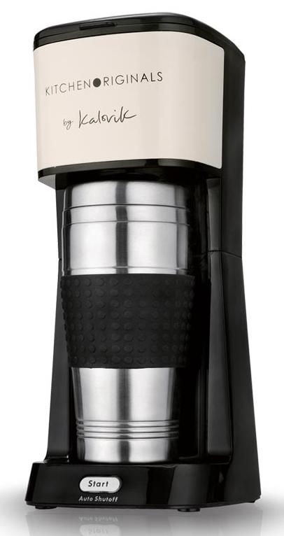 Kalorik Kaffeemaschine TKG CM 1014 KTO aus Edelstahl.