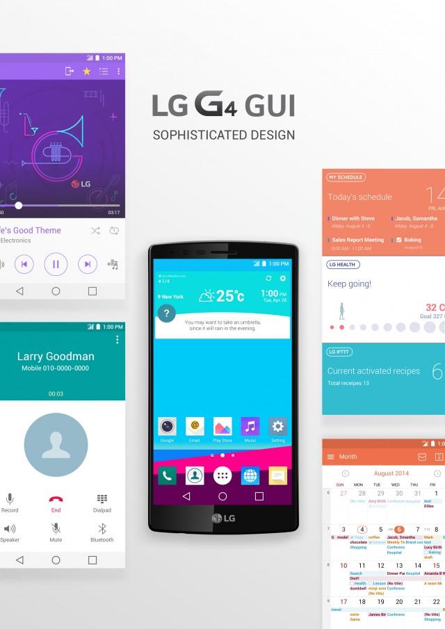 Das G4 von LG glänzt mit einer Design-Philosophie, die den Menschen in den Mittelpunkt stellt.