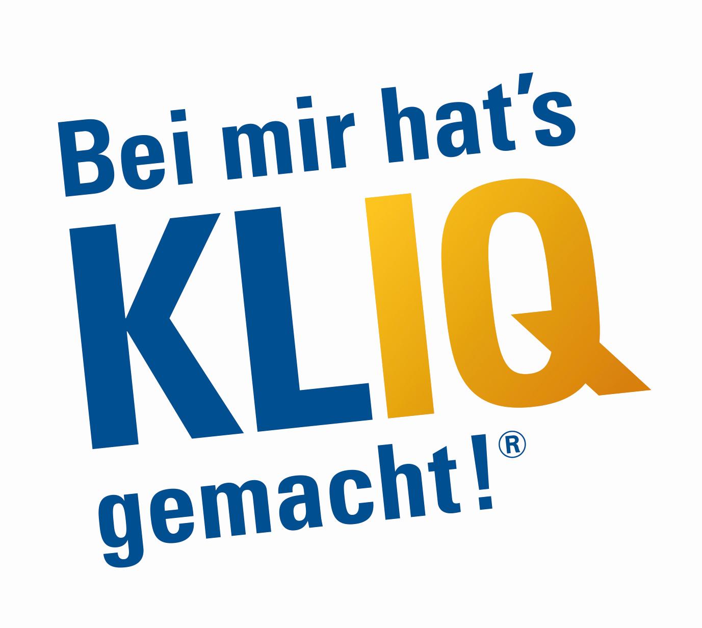Logo Bei mir hat's KLIQ gemacht!