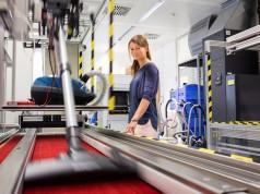 In der Staubsaugerfabrik in Bad Neustadt testet die BSH alle Staubsauger nach den verbindlichen Vorgaben des EU-Energielabels. Foto: BSH