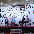 Podiumsdiskussion auf der fairgoods & vegginale in Köln (Bild: di)