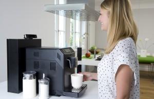 digitalSTROM macht es möglich: Smile for a Coffee.
