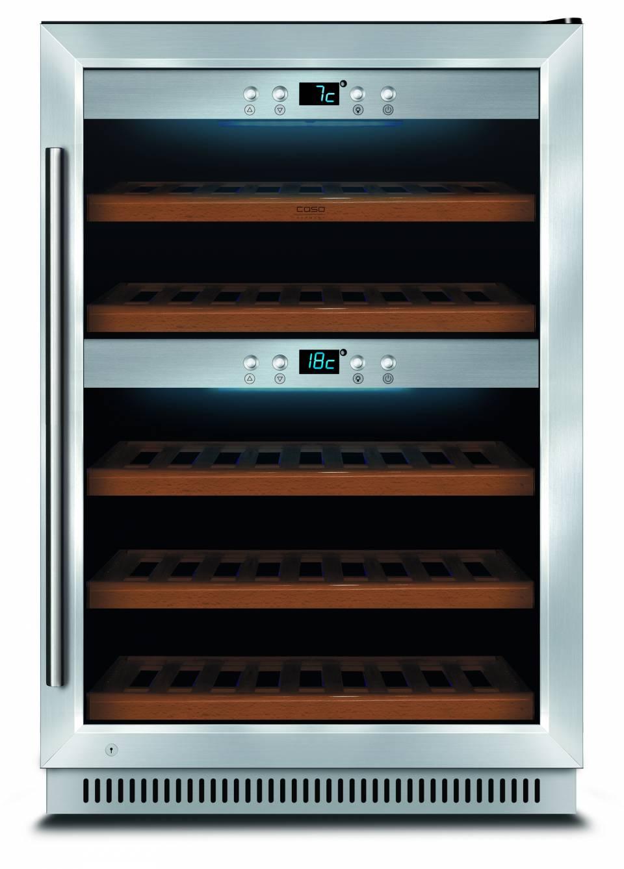 Caso Weinkühlschrank WineMaster 40 EB als Einbaugerät.