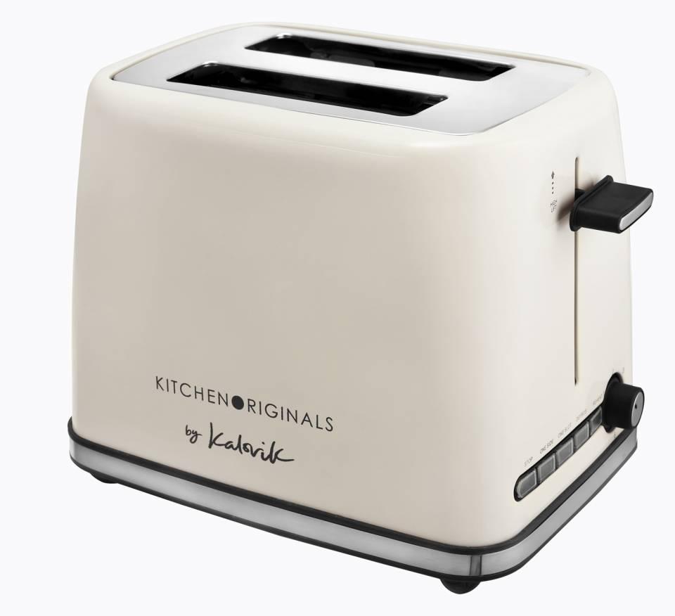 Kalorik Toaster TKG TO 1014 KTO auch als Ein-Schlitz-Toastfunktion nutzbar.