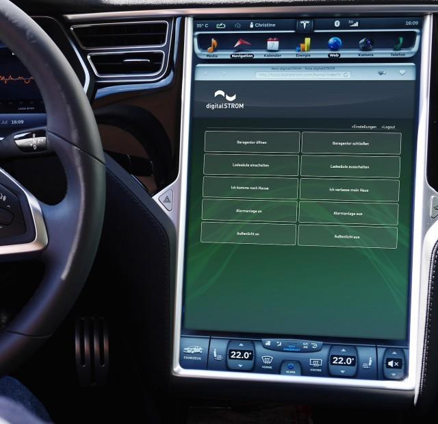 Mit digitalSTROM hält Smart Living Einzug in das Automobil.