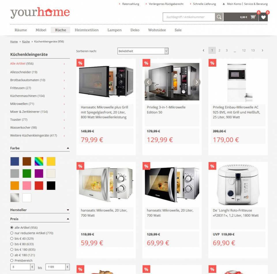 Screenshot myhome.de