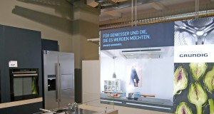 Grundig Großgeräte sollen verstärkt den Elektro- und Küchenhandel begeistern.