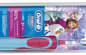 Oral-B Zahnbürste Kids Die Eiskönigin mit Disney-Motiven.