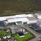 Neuer Oranier Firmensitzes Haiger bei Dillenburg.