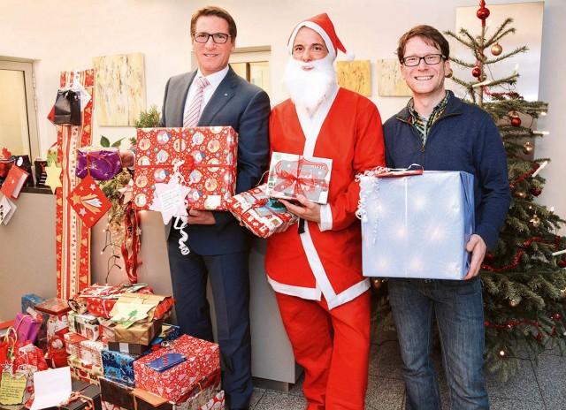 Zur Weihnachtszeit verwirklichte die Wertgarantie wieder Kinderwünsche.