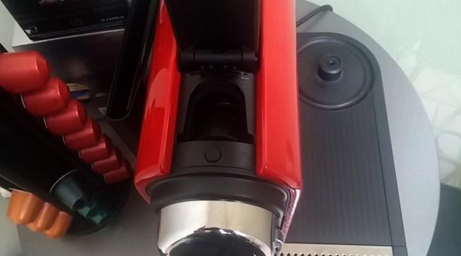 Mycoffeecap: Hier muss die Kaffeekapsel rein