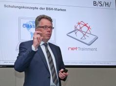 """Volker Klodwig, Leiter Vertrieb Europa der BSH Hausgeräte GmbH: """"Noch nie hatte der stationäre Handel mehr Umsatzpotential als in 2016."""""""