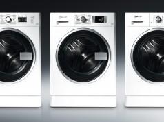 Drei verschiedene Ausführungen mit denselben Stärken: Die neue, designprämierte Waschtrockner-Reihe von Bauknecht.