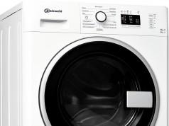 Bauknecht Waschtrockner WATK Prime 8612 in einem Arbeitsgang 8 kg Waschen und 6 kg Trocknen.