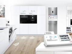 Zusammenspiel mit starken Marken rund um den Lebensraum Küche: Bosch.