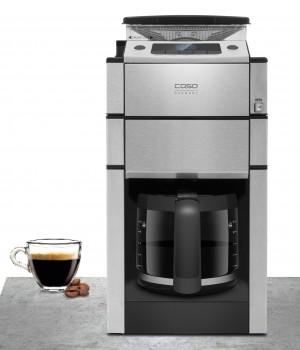Caso Kaffeemaschine Coffee Duo mit Kegelmahlwerk.