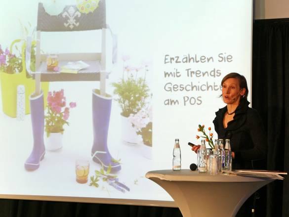 """Gabriela Kaiser, Inhaberin von Trendagentur: """"Farbe wird schneller wahrgenommen als Form oder Schrift."""""""