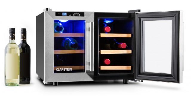 Der Klarstein Weinkühlschrank Reserva Saloon